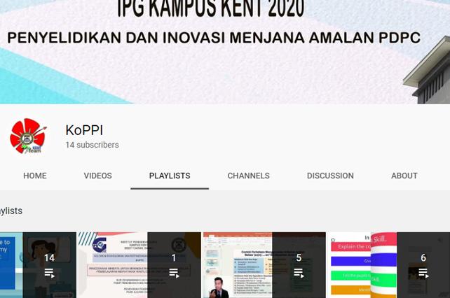 youtube Rasmi KoPPI 2020